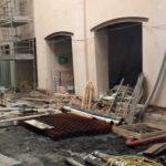 Lavori di restauro Mercato di Mezzo Bologna